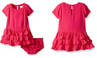 Kate Spade Baby Girls Cabaret Pink Tiered Dress Set Outfit NEW Tags 12 18 24 2T