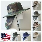Wholesale Lot Bucket Booney Mesh Hat Hunting Fishing Army Military Hiking Camo