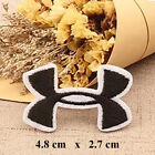 Iron-on/Sew-on Embroidered Patch (4.8 x 2.7cm) pat0821 UNDER ARMOUR Logo