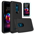 For LG K30/K40/Solo 4G LTE/Xpression Plus 2 Case Cover / Glass Screen Protector