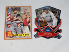 Babe Rith and Babe Ruth as a Boy and Die Cut Topps #135 and #CTC-4