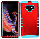 For Samsung Galaxy Note 9 - KoolKase Hybrid ShockProof Cover Case - Red (R)