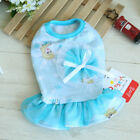 Princess Dog Dress Small Pet Clothes Summer Apparel Skirt Chihuahua Costume Girl