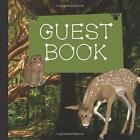 NEW Guest Book: Forest Baby Shower Guest Book by Butterfly Designs