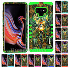 For Samsung Galaxy Note 9 - KoolKase Hybrid Armor Cover Case - Camo Mossy Deer