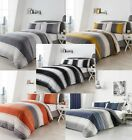 Betley Modern Striped Duvet Cover Sets-Bedding Sets,5 Great Colours,All Sizes