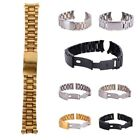 Stainless Steel Strap Band Clasp Metal Watch Bracelet Replacement 18/20/22/24mm  image