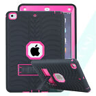 Armor Hybrid Shock Kid Proof Stand Cover Case For iPad 2/3/4 Mini iPad 9.7 2017