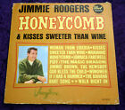 Jimmie Rodgers - Honeycomb and Kisses Sweeter Than Wine 1963 LP  -  Free S&H