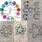 smiley piercing,epoxy COATED,cartilages ,ear tragus,lip ring, BUY 2 GET 1FREE