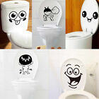 3D Removable Bathroom Decals Decor Toilet Seat Smile for Wall Sticker Vinyl Art