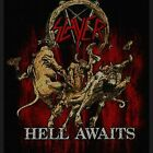SLAYER : Demonic Eagle Hell Awaits Scratched Logo Repentless Wehrmacht Sew Patch