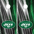 New York Jets Ripped Metal Cornhole Board Decal Wrap Wraps on eBay