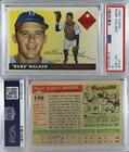 1955 Topps #108 Rube Walker PSA 6 EX-MT Brooklyn Dodgers Baseball Card