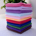 10pcs Soothing Microfiber Face Towel Cleaning Wash Cloth Hand Square Towel