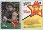 2007 Topps Heritage WWE Chrome II X-Fractor #40 Super Crazy Wrestling Card