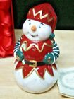 WATERFORD HOLIDAY HEIRLOOMS SNOWMAN DINNER BELL  2009  NEW IN BOX