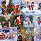 Christmas Santa DIY Paint By Number Kit Acrylic Oil Painting On Canvas Art Wall