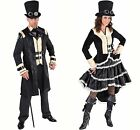Gents Victorian Steampunk - Black
