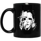 11 oz Halloween Freddy Jason Michael Thomas horror movie coffee mug cup image