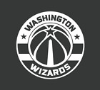 Washington Wizards Basketball Black/White Vinyl Decal on eBay