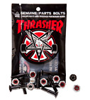 THRASHER x INDEPENDENT Trucks Skateboard Hardware Set of 8 Bolts / Nuts