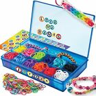 Cra-Z-Art Cra-Z-Loom Ultimate Collector Case with 1800 Rubber Bands, 50 S Cli...