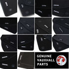 Genuine Oe Vauxhall Velour Black Tailored Front/rear Floor Car Mats