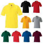 JERZEES SCHOOLGEAR GIRLS BOYS KIDS POLYCOTTON PIQUE POLO SHIRT 539B