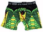Stand Out BE ODD Cobra Snake Red Tongue Vibrant Colors Boxer Briefs Mn's NWT