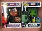 FUNKO POP! MARVEL RED SHE-HULK 231 2017 CONVENTION GREEN 147 COMIKAZE EXCLUSIVE