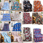 """Soft Plush Winter Christmas Holiday Throw Blanket - 50"""" X 60"""" - Great Gift !!!"""