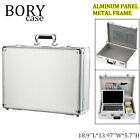 Password Lock Aluminum Hard Briefcase Business Industrial Home Storage Cases