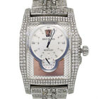 Breitling Bentley A28362 Flying B All Diamond Stainless Steel Watch