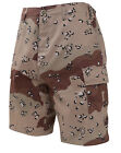 Mens Military BDU Shorts 6 Color Desert Camo Camouflage Rothco 7072