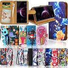 Leather Wallet Stand Flip Case Cover For Various Cubot Mobile Phones + strap