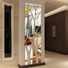 Modern Mirror Style Removable Decal Tree Art Mural Wall Stickers Home Room Decor