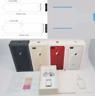 iPhone 8 8 Plus Empty Retail Box & Accessories Option of Box Seal+Screen Seal