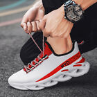 Mens Walking Tennis Running Shoes Slip on Casual Fashion Sneakers size65 1 3