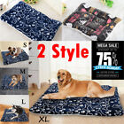 Pet Washable House Blanket Large Dog Bed Cushion Mattress Kennel Soft Crate Mat