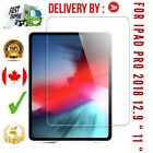 Premium Tempered Glass Screen Protector For Apple iPad PRO 2018 12.9 11 Fast