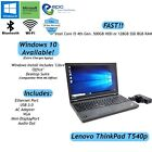 Lenovo ThinkPad T540p Laptop i5 4th Gen HDD or SSD 8GB RAM Windows 10 Available