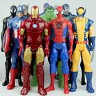 Super Heroes SpiderMan Avengers Thor Captain America Wolverine Action Figure Toy
