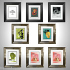 Vintage Perfume Advertising Prints Framed & Double Mounted