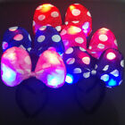 Внешний вид - LED Light Up Minnie Mouse Ears Polka Dot Bow Headband Party Favor Kids Mickey