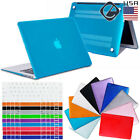 Hard Rubberized Shell Case Keyboard Cover for MacBook Pro 13 15 Retina 12 Air 11
