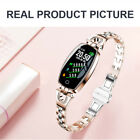Women Smart Watch Fitness Activity Tracker Fit Android iOS Heart Rate Monitor UK