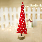 Merry Christmas Tree Cloth Desk Decoration Toy Doll Gift Office Home Children