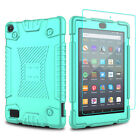 For Amazon Fire 7 2019/HD 8 2018 9th Gen Tablet Case Cover With Screen Protector