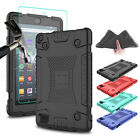 For Amazon Fire HD 7 2019/8 2018 9th Gen Tablet Case Cover With Screen Protector